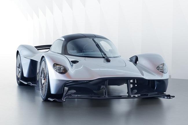 Aston-Martin-Valkyrie siêu xe đắt tiền thứ 4 thế giới