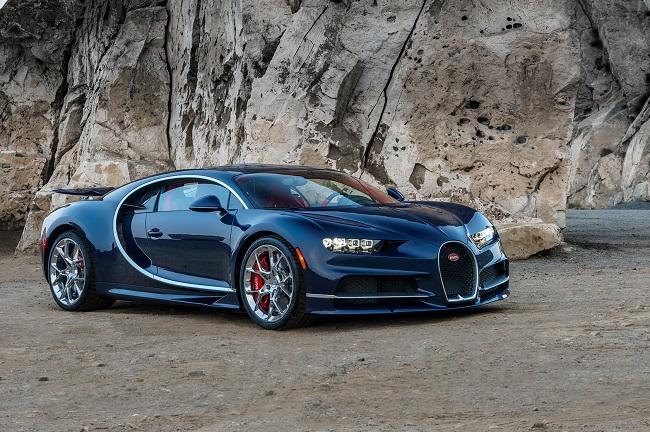 Bugatti-Chiron siêu xe đắt tiền thứ 6 thế giới