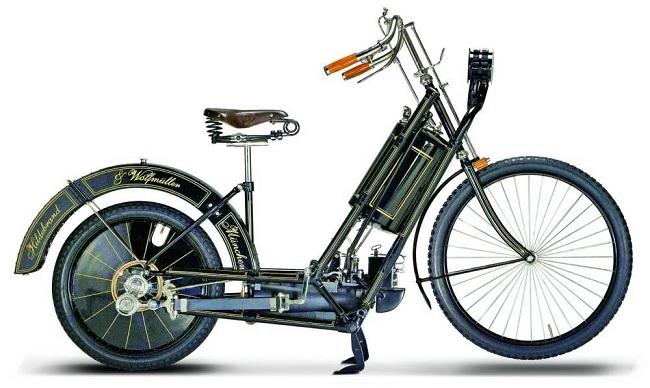 Hildebrand Wolfmuller chiếc xe mô tô đắt tiền thứ 4 thế giới