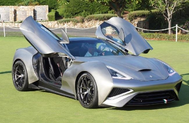 Icona-Vulcano-Titanium siêu xe đắt tiền thứ 5 thế giới