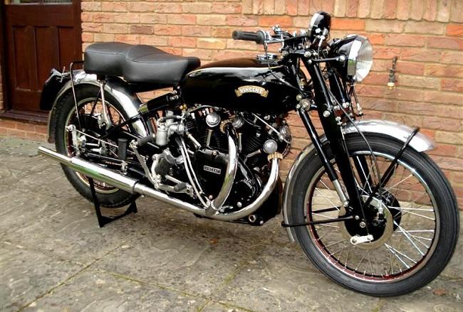 Legendary British Vintage Black chiếc xe mô tô đắt tiền thứ 8 thế giới
