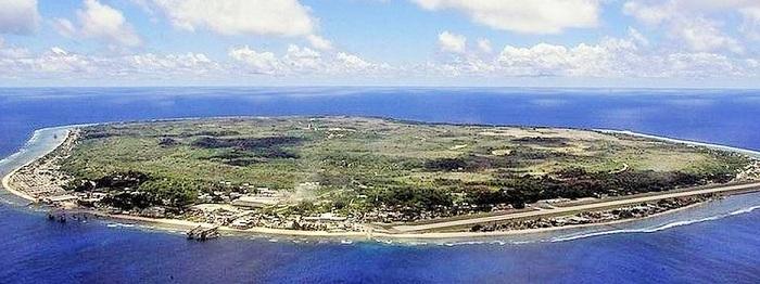 Nauru là nước có diện tích nhỏ thứ 3 thế giới
