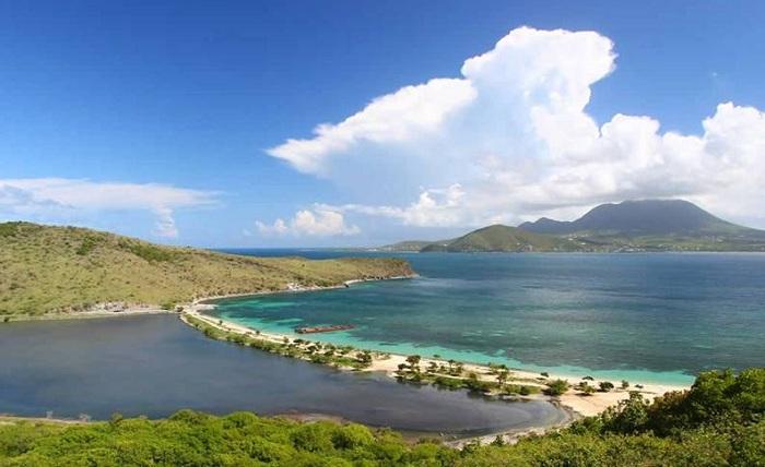 Liên bang Saint Kitts Nevis có diện tích nhỏ thứ 8 thế giới