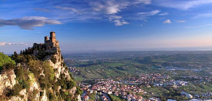 San Marino có diện tích nhỏ thứ 5 thế giới