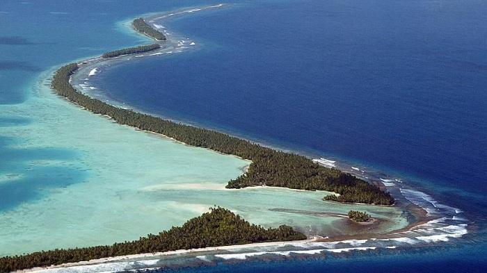 Tuvalu có diện tích nhỏ thứ 4 thế giới