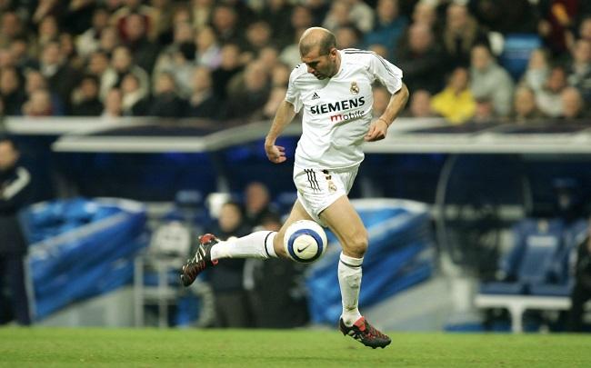Zinedine Zidane cầu thủ đắt giá thứ 10 thế giới