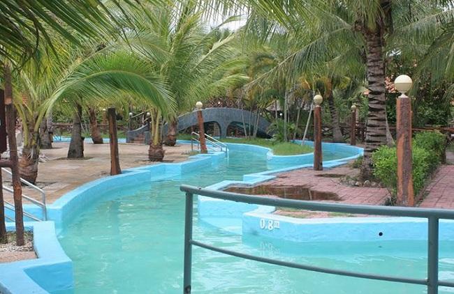 Điểm du lịch đẹp gần TPHCM - Suối nước nóng Bình Châu