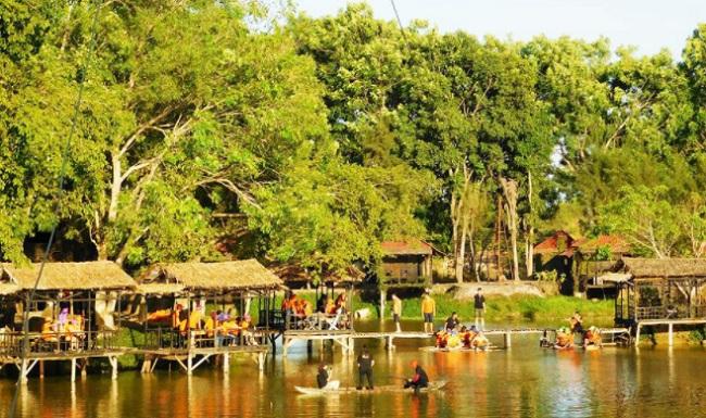Điểm du lịch đẹp ở TPHCM - Nhà vườn Long Phước