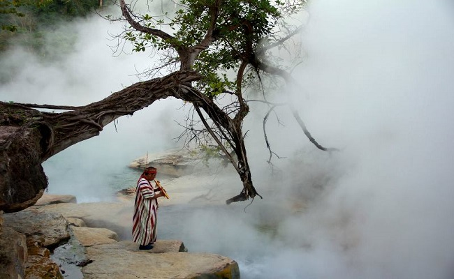 Dòng sông nóng nhất thế giới ở nước nào?