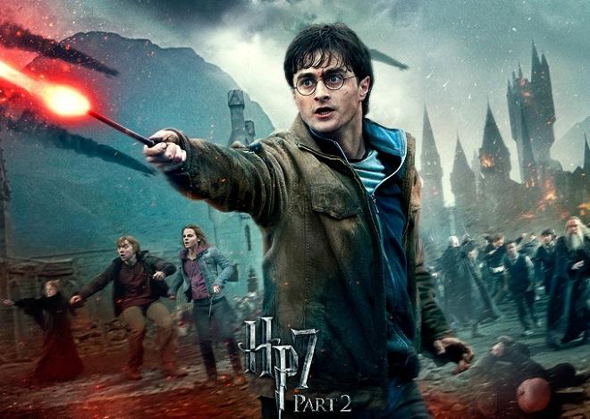 Harry Potter and the Deathly Hallows - Part 2 bộ phim có doanh thu cao thứ 8 lịch sử điện ảnh