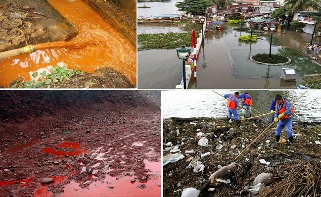 Nguyên nhân gây ô nhiễm đất