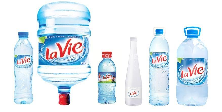 Nước khoáng Lavie đóng bình đóng chai
