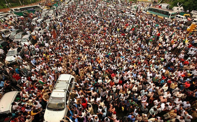 Quốc gia đông số dân nhất thế giới