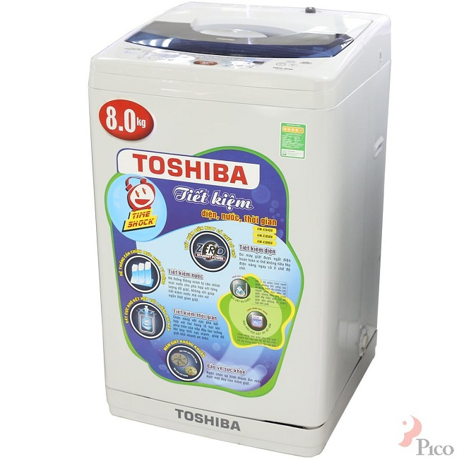 Thương hiệu máy giặt nổi tiếng Toshiba