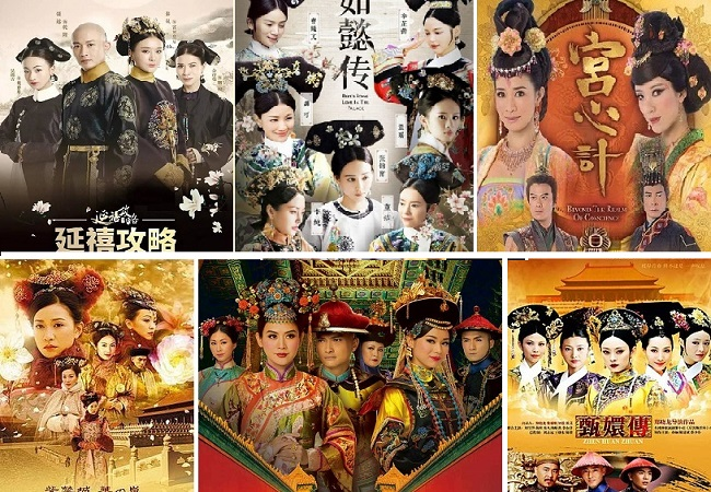 Phim Trung Quốc hay về đấu đá hậu cung